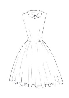 How To Draw A Dress Learn How To Draw A Princess Dress With Simple