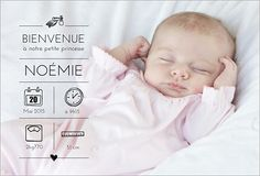 Faire part naissance photo fille 2