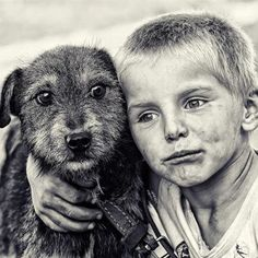 This little boy looks so sad . . . makes you wonder what the story is behind the photo
