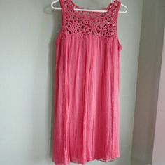 Sunday Sale!! Beautiful Anthro Rohit Gandhi Dress Absolutely beautiful dress!!!  Rohit Gandhi Rahul Khanna coral dress.  Worn a couple of times and recently dry cleaned by previous owner (I brought and am sad to have to reposh because it is too large for my 34A chest:() .  Includes matching slip. Anthropologie Dresses