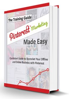 Pinterest Marketing Made Easy -   Would You Like To Position Your Offline Or Online Business For A Whole New Level Of Success While Dominating The Latest And Most Effective Pinterest Marketing Techniques In Just A Few Hours?