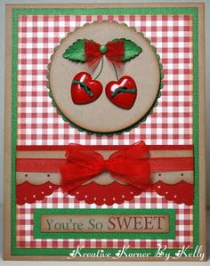 Cheery Cherry card.