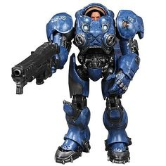 Starcraft 2 Premium Series 1 Terran Marine Tychus Findlay Action Figure by DC Direct, http://www.amazon.ca/dp/B0080NYADW/ref=cm_sw_r_pi_dp_C-ONrb1H6HX3Q