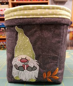 Dwarf machine embroidery design