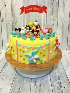 tsum tsum birthday cake Disney Magic Pinterest Birthday