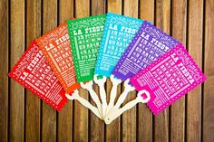cinco de mayo paper goods..cute for wedding program?..lynd could designso easy.it may be hot