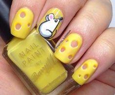 nail art designs braid fashion makeup 45 Cute Animal Nail Art Prints that're truly Inspirational - Latest Fashion Trends Animal Nail Designs, Animal Nail Art, Nail Art Designs, Food Nail Art, Nail Art Diy, Jolie Nail Art, Yellow Nail Art, American Nails, Super Nails