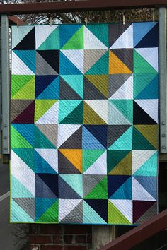 FAITH Circle February quilt completed by flickrdeb50, via Flickr