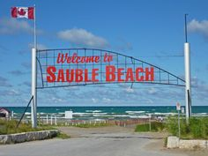Sauble Beach, Ontario - Nearby Campgrounds and RV Parks Camping In Ohio, Camping Places, Places To Travel, Places To See, Ontario Provincial Parks, Best Rv Parks, My Adventure Book, Ontario Travel, Beautiful Places To Visit
