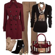 Burberry by vanessa-bohlmann on Polyvore featuring Donna Karan, Burberry, Dsquared2, Emilio Pucci, Q and Tory Burch