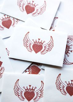 Wings to add to my existing heart with crown tattoo!