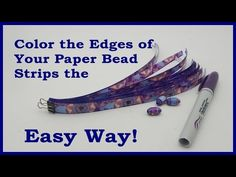 Double Hole Paper Bead Rollers - YouTube