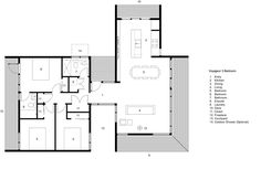 Voyageur 3 bedroom cabin plan by Form