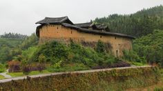 The historical building is named after its shape, which resembles a Pipa, the Chinese lute. The structure was first built in the Ming Dynasty and reconstructed in 1885 during the Qing Dynasty. It's a fortress rather than a residential building, as its outer wall has 40 gun ports and the inner wall is equipped with a bridle path.