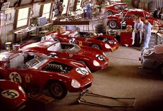 Ferrari @ Sebring. 1962.