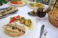 Sardinhas Assadas (Portuguese Grilled Sardines)