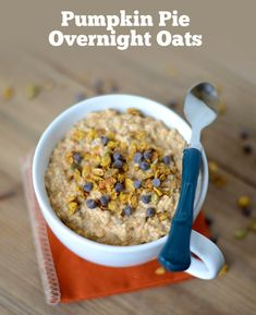 Pumpkin Pie Overnight Oatmeal & 9 Other Deliciously-Healthy Pumpkin Recipes