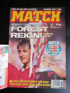 Nottingham Forest Fc, Vintage Football, Magazine Articles, Childhood Memories, Magazines, Journals