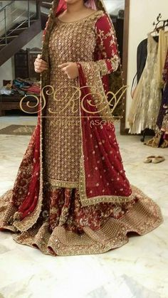 Party and bridal wear Pakistani Bridal Lehenga, Pakistani Bridal Couture, Designer Bridal Lehenga, Pakistani Wedding Outfits, Pakistani Dress Design, Pakistani Dresses, Indian Bridal, Indian Dresses, Bridal Mehndi Dresses