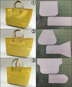 Leather Bag Tutorial, Leather Bag Pattern, Sewing Leather, Leather Gifts, Leather Bags Handmade, Handmade Bags, Handmade Handbags, Bag Pattern Free, Bag Patterns To Sew
