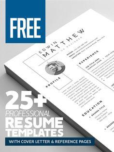 25+ Free CV / Resume Templates
