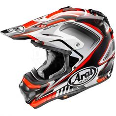 Arai MXV Motocross Helmet - Speedy Red