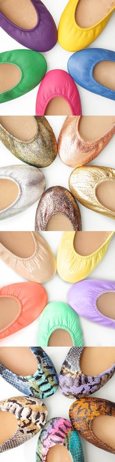 With 57 prints, patents, classics, and more, you're sure to find the perfect pair! | Tieks Ballet Flats
