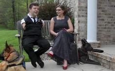 Sweet Service Dogs Help Make Prom Dreams Come True - BarkPost