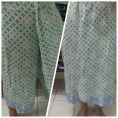 Batik skirt-pants
