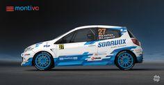 Montiva Racing - Michal Vaňhara (Renault Clio) - design and wrap.