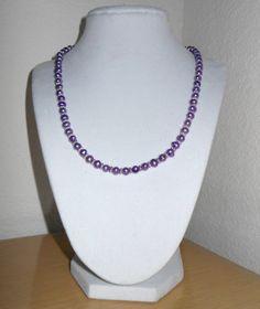 Love those Purple Pearls/Genuine by CreationsbyMaryEllen on Etsy, $22.97