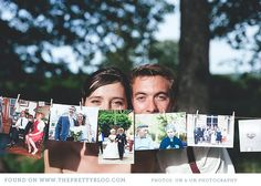 Photo exhibition of guests that are attending your wedding. Brings back great memories for your guests to chat about