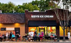 Izzy's Ice Cream in St. Paul, MN -- the best in the the Twin Cities.