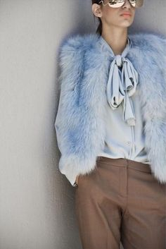 Alaskan Fur | Baby blue | #furfashion #style #furstyle #streetstyle #ootd #lotd #wiw #fur #fashion #furblog #fashionblogger #alaskanfur