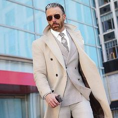 48 Amazing Winter Suits for Gentleman Style - Dress World for Men Sharp Dressed Man, Well Dressed Men, Mens Fashion Suits, Mens Suits, Herren Outfit, Gentleman Style, Men Looks, Stylish Men, Swagg