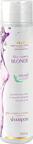 Marc Daniels Powerful Purple Toning Shampoo for color and highlight treated hair!