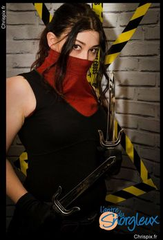 My cosplay of Elektra Natchios from Marvel's Daredevil of Netflix. #Elektra #Natchios #Marvel #Daredevil #Netflix. #costume #MattMurdock #MattMurdockCosplay #DaredevilCosplay #ElektraNatchios #ElektraNatchiosCosplay #ElektraCosplay #MarvelCosplay #NetflixCosplay #FCBD2016 #FreeComicsBookDay