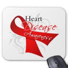 Symbol for Heart Disease Awareness - Red Ribbon