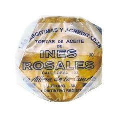 Tortas de aceite INES ROSALES, paquete 6 tortas 180 grs.