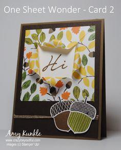 one sheet wonder - Homemade Cards, Rubber Stamp Art, & Paper Crafts - Splitcoaststampers.com