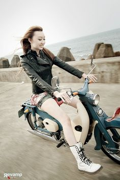AWESOME. PRT_7101-p01s by WesternWolf, via Flickr Honda cub