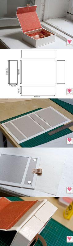 almacenamiento improvisada de cartón para las fotos y todo lo demás.