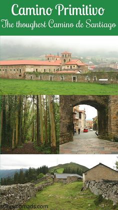 Complete guide to Camino Primitivo, the first Camino de Santiago in Spain. Walking stages, places to stay, budget, packing list. Camino Trail, The Camino, Travel Guides, Travel Tips, Backpacking Europe, Hiking Tips, Best Hikes, Day Hike, Spain Travel