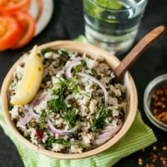Dill and Lentil Rice - Easy, healthy, vegan one pot meal for those busy weeknights