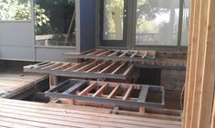 Steel and wood construction Ritchie deck