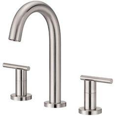 Danze DD304558BN Parma™ 8'' Widespread Bathroom Faucet - Brushed Nickel $414.12 at Ferguson