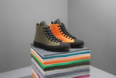 ebe13c28c912 J.W. Anderson Reconstructs Converse Chuck Taylor 70 in Felt