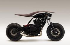 Мотоцикл, созданный музыкальными дизайнерами  Yamaha.