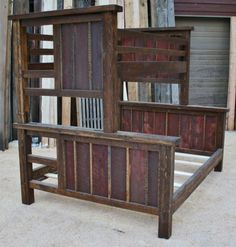 Hey, I found this really awesome Etsy listing at https://www.etsy.com/listing/173788565/reclaimed-rustic-bunk-bed