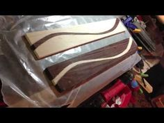 How to Make a Laminated Fretboard - YouTube